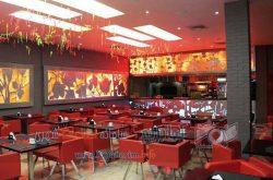 رستوران لمزی - نمای داخلی