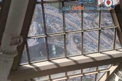 برج میلاد - مسیر خروجی برج میلاد - نمایی از داخل برج - سایت کجا بریم